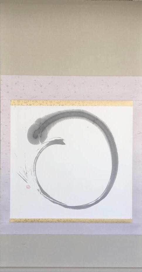 円相 Enso   70cm×70cm