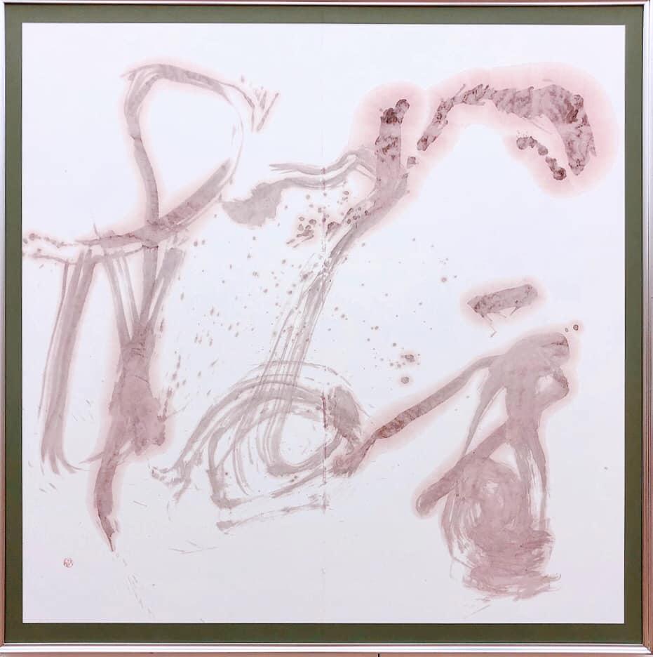 八重桜 DoubleCherryBlossom 135cm×138cm